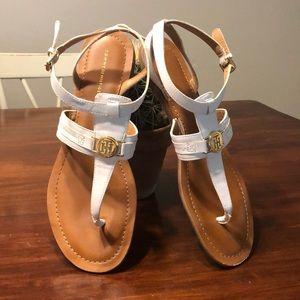 Tommy Hilfiger White Lancia Sandals